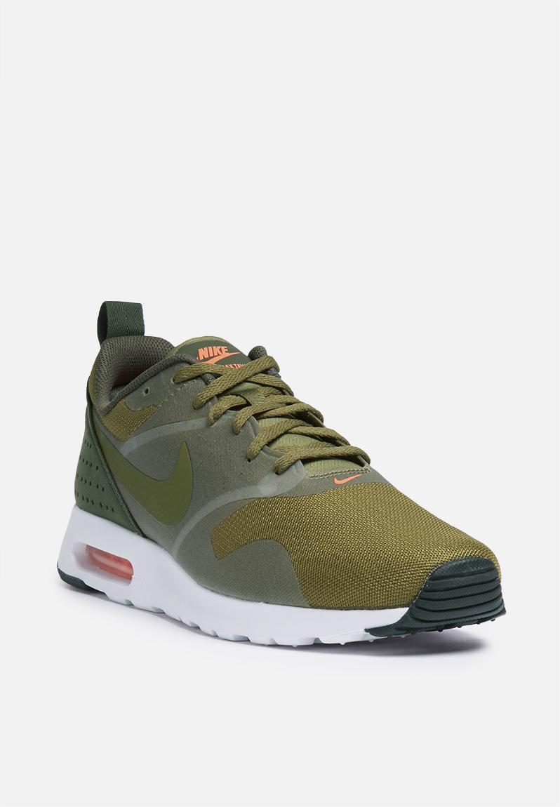 344ef61edab Nike Air Max Tavas - 705149-304 - Olive Flak Dark Loden White Nike Sneakers  ...