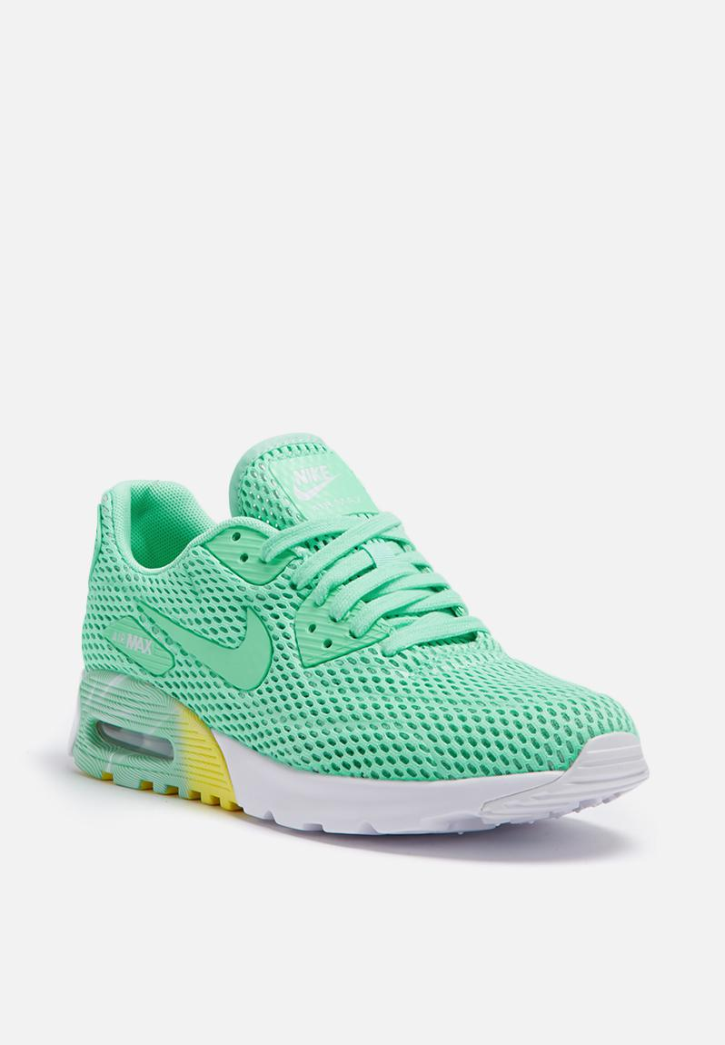 Nike W Air Max 90 Ultra BR - 725061-301 - Green Glow / Pure Platinum Nike  Sneakers | Superbalist.com