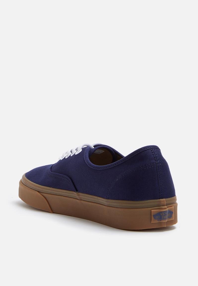 Vans Authentic - Gumsole - VN0A348ALY5 - Eclipse / Light Gum Vans Sneakers  | Superbalist.com