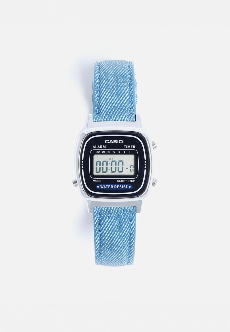 wrist watches digital blue casio watches superbalist