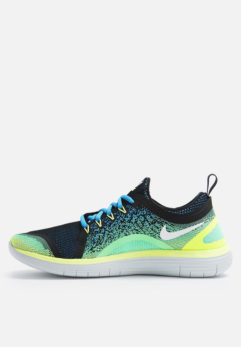 the best attitude 770b8 0fa71 ... Nike Free RN Distance 2 - 863775-402 - Chlrn Blue White Electric Green  Black ...
