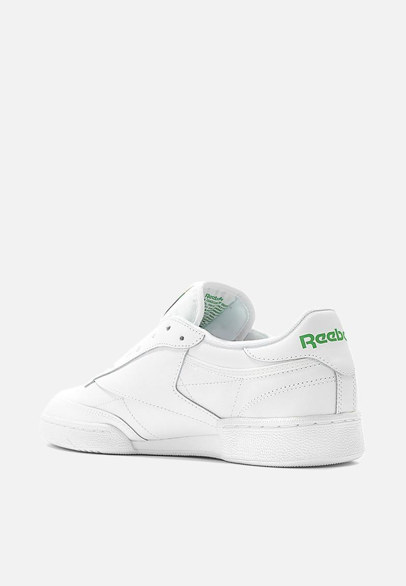 Reebok Club C 85 Foundation - AR0456 - Int-White/Green Reebok Sneakers |  Superbalist.com