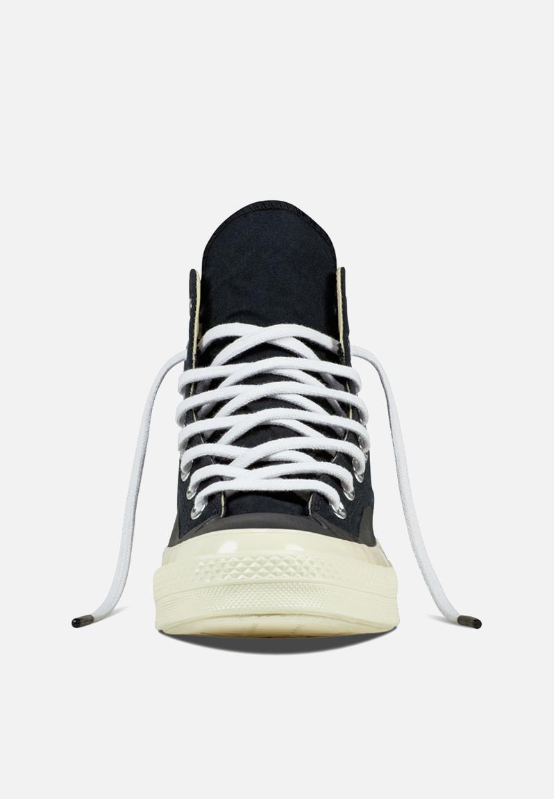 converse 70s hi black. chuck taylor all star hi 70\u0027s shield -155448c - black/egret/blac converse sneakers | superbalist.com ? 70s black f