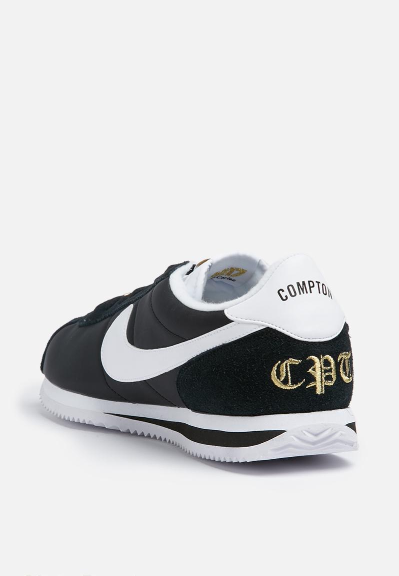 Nike Cortez Basic Nylon PRM - 902804-001 - Black / White / Mtllc Gold Nike  Sneakers | Superbalist.com