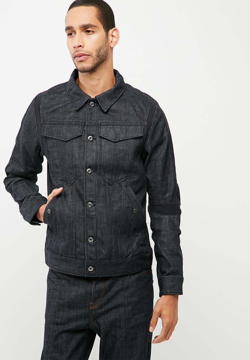 motac dc 3d slim jkt rake denim raw denim g star raw jackets. Black Bedroom Furniture Sets. Home Design Ideas