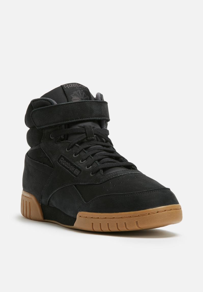 Reebok EX-O-FIT Plus Hi LG - BS6189 - black coal / sienna / gum Reebok  Sneakers   Superbalist.com