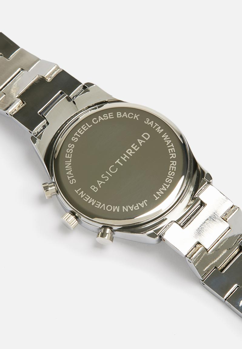 lyon chain station silver abbott designer kensington watch watches shade