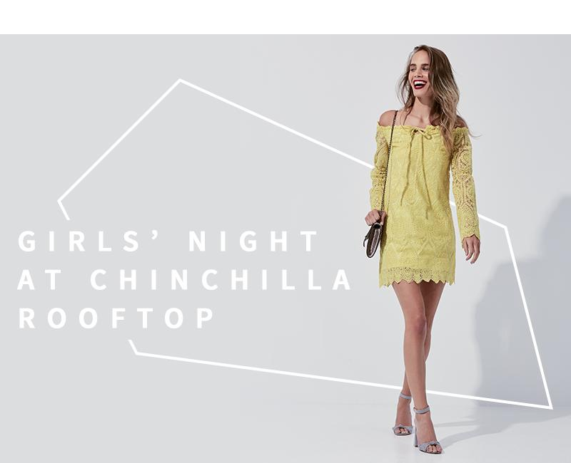 Missguided Lace bardot tie detail shift dress