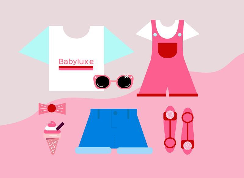 child-like dressing