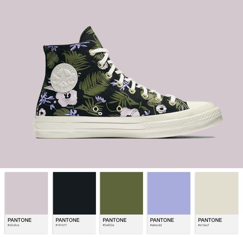 Chuck Taylor All Star 70 Hi — Black / Cherry Blossom