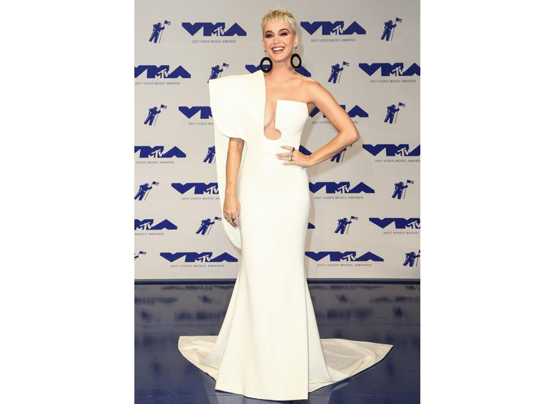 Best dressed: Katy Perry