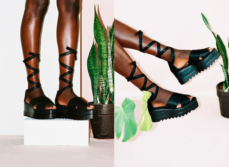 The statement sandals
