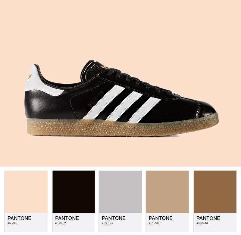 adidas Originals Gazelle Shiny LTR - BZ0026 - Core Black / White