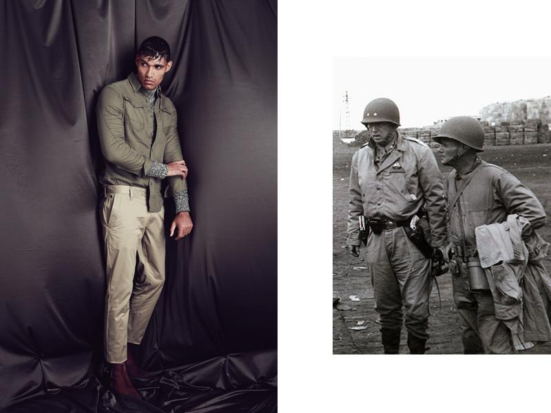 Military Inspired Menswear