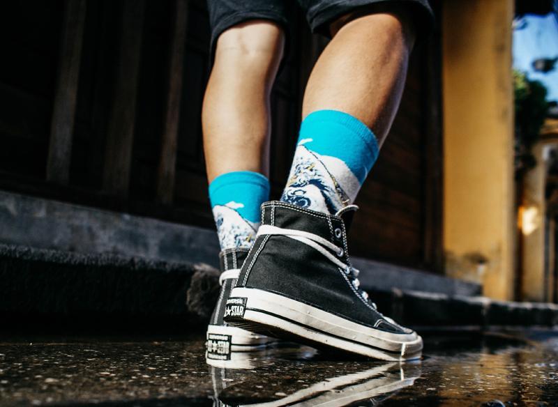 Festival footwear: Converse