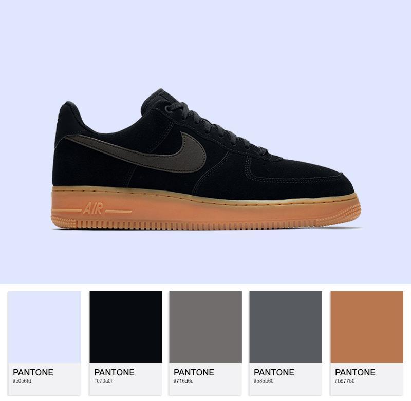 Nike Air Force 1 '07 LV8 Suede - AA1117-001 - Black / Black gum /Brown