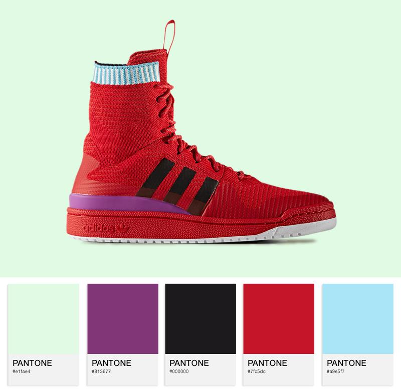 adidas Originals Forum Winter PK - BZ0645 - Scarlet / Purple