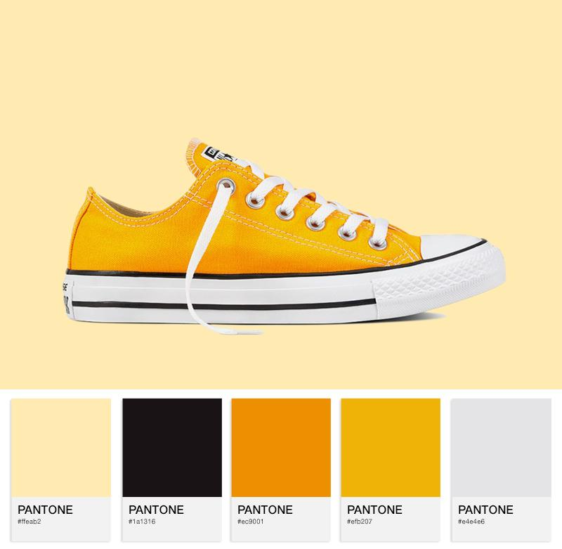Chuck Taylor All Star — Orange Ray