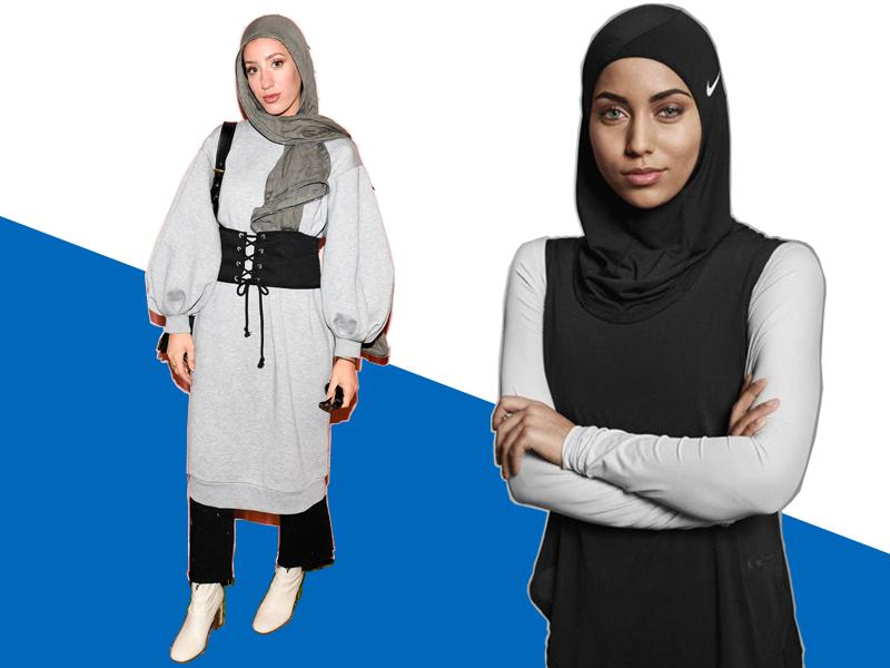 hijab goes high fashion