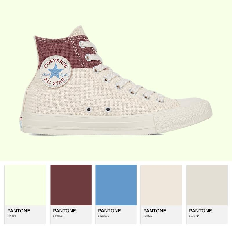 Chuck Taylor All Star American Block High Top — Jute / Aegean Storm / Mars Stone