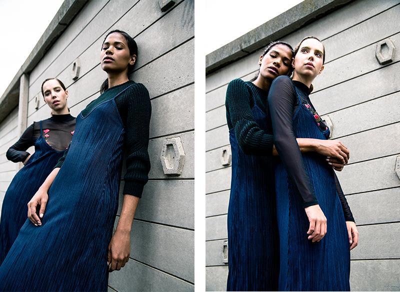 plissé dresses