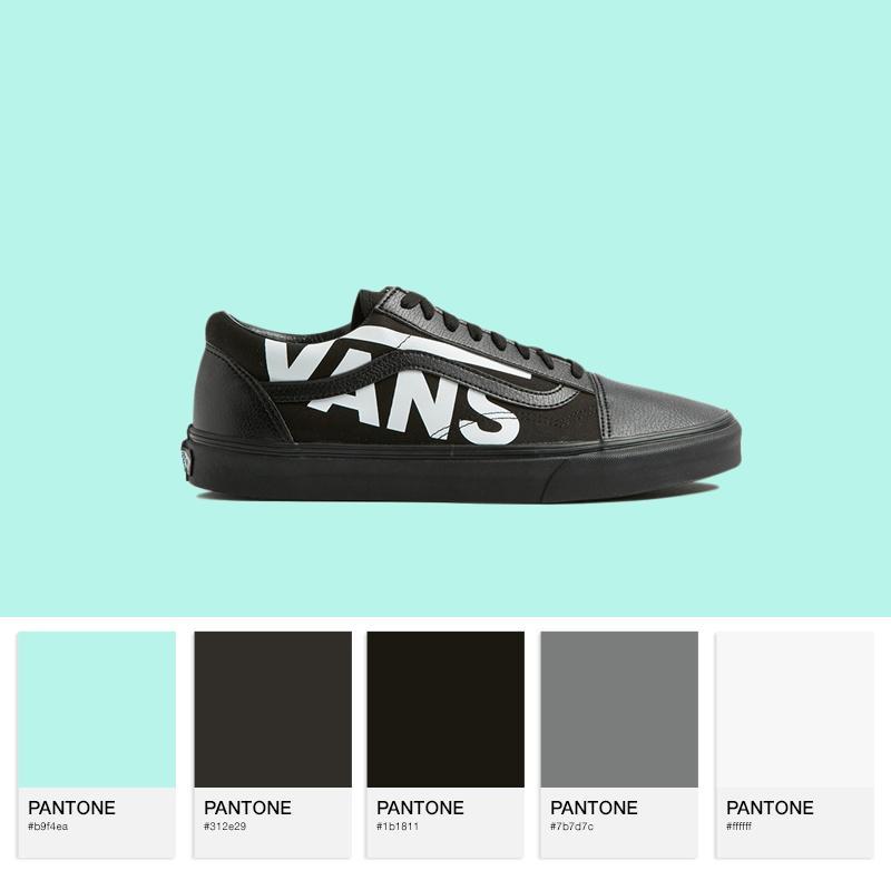 Old Skool - (Vans) black/true white