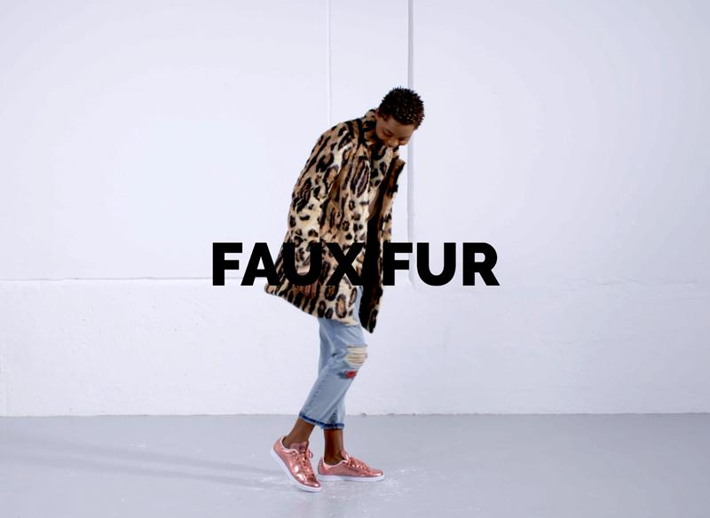 women's jackets and coats faux fur