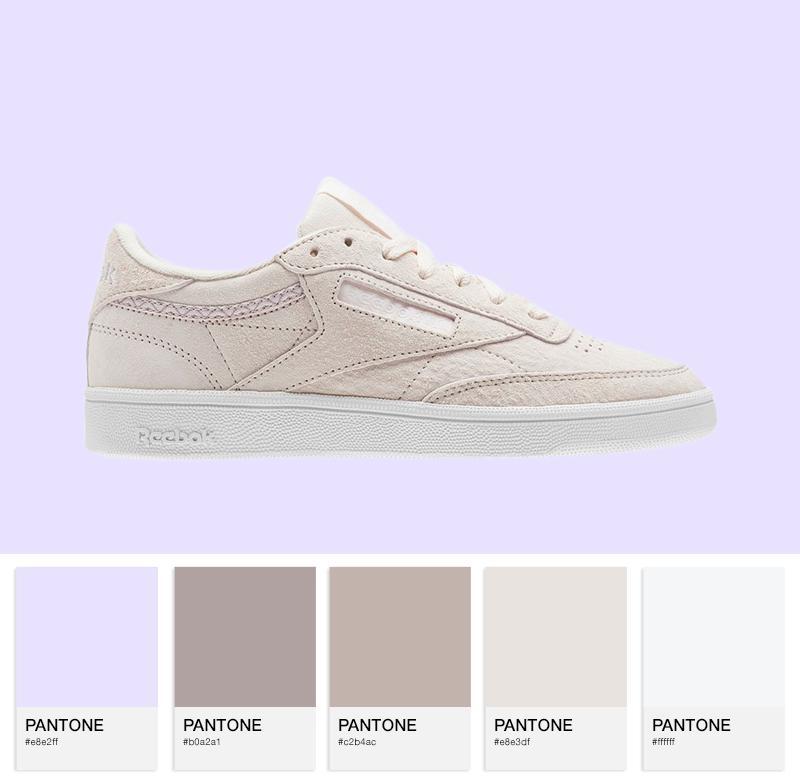 Reebok Club C 85 Trim NBK - Pale Pink/White