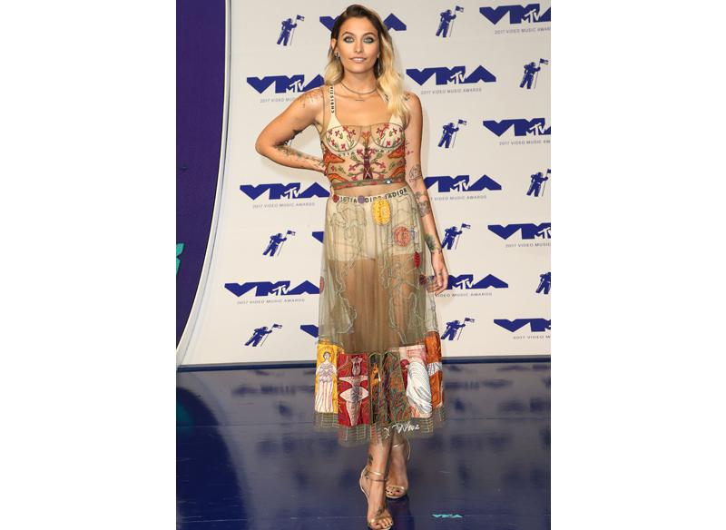 Best dressed: Paris Jackson