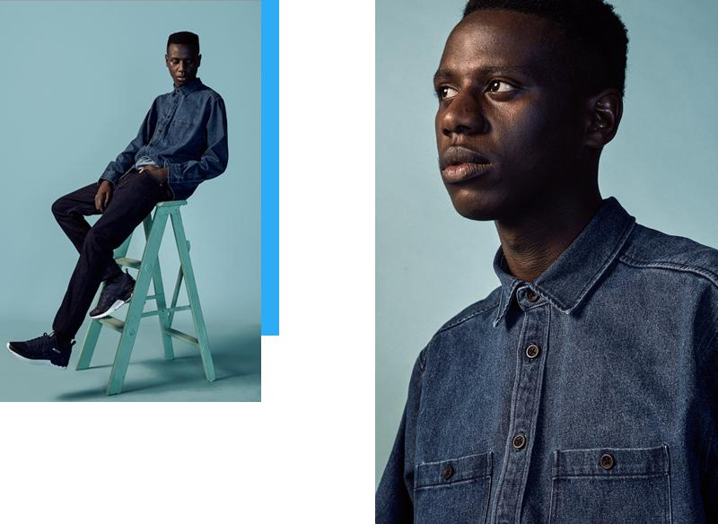 Always on-trend: the denim shirt