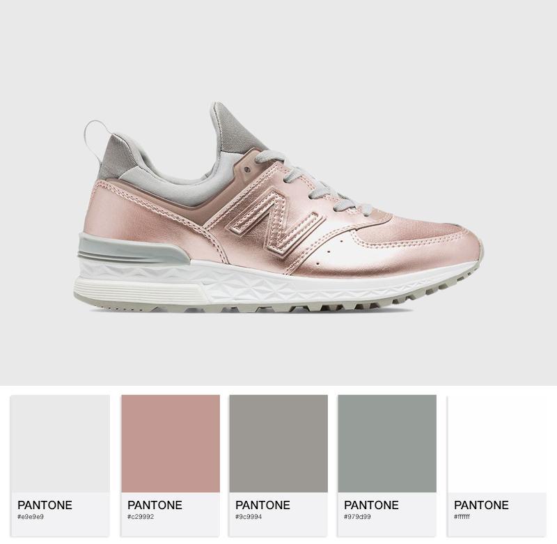 New Balance WS574SFF Metallic Pack - Pink