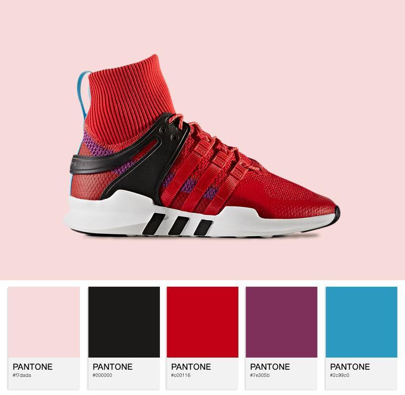 adidas Originals EQT Support ADV - BZ0640 - Scarlet / Purple