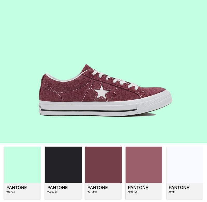Converse Cons One Star Vintage Suede OX
