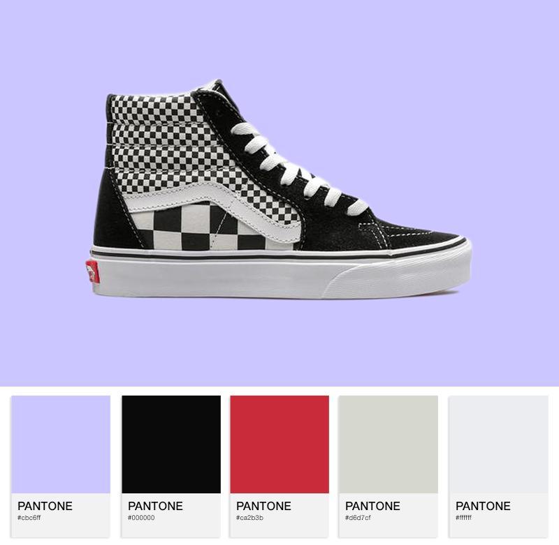 Vans Sk8-Hi Mix Checkered