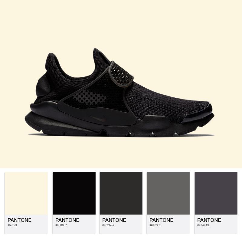 Nike Sock Dart - 819686-001 - Black / Black / Volt