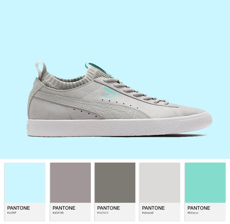 PUMA Select Clyde Sock Lo – Glacier White