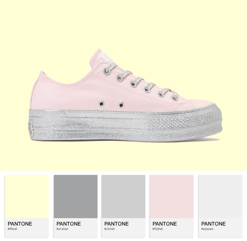 Chuck Taylor All Star Lo – pink/silver