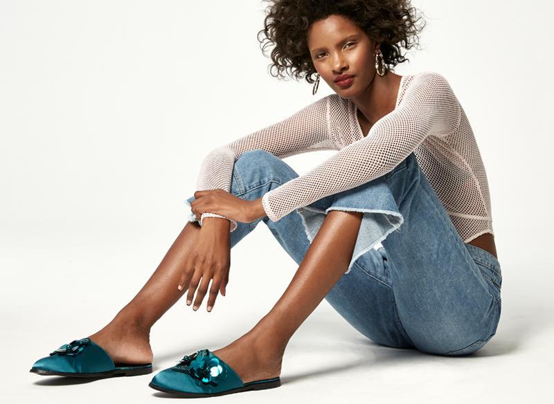 statement flat shoes