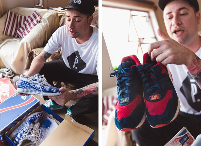 Asics and New Balance Collette packs