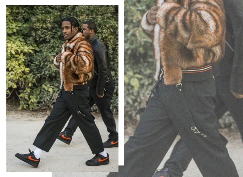 A$AP Rocky street style