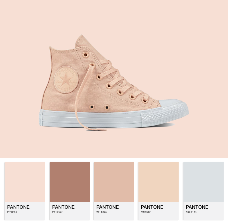 Chuck Taylor All Star - Hi - Dusk Pink/Platinum