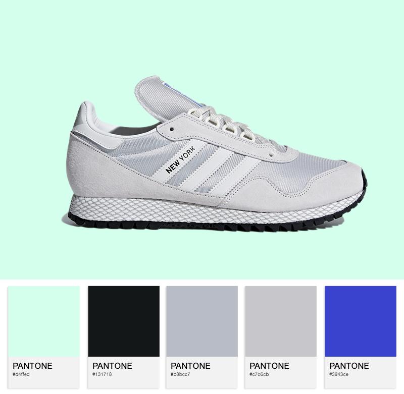 adidas Originals New York — Crystal White / Off-White / Grey Two
