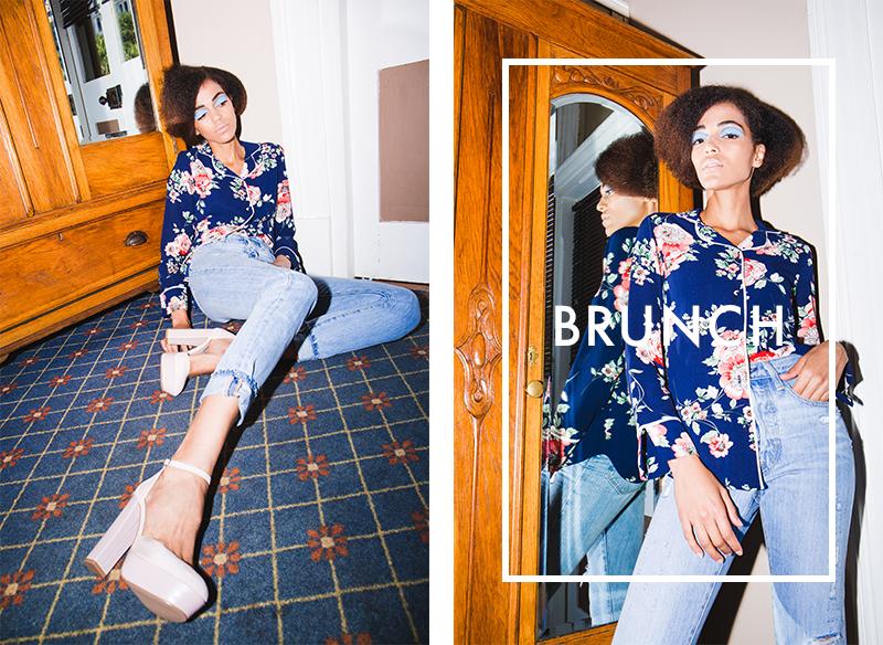 pyjama shirt denim brunch superbalist