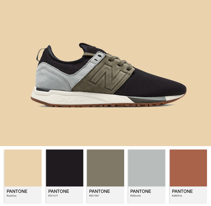 New Balance MRL247LG - 247 Knit Pack - Black / Olive