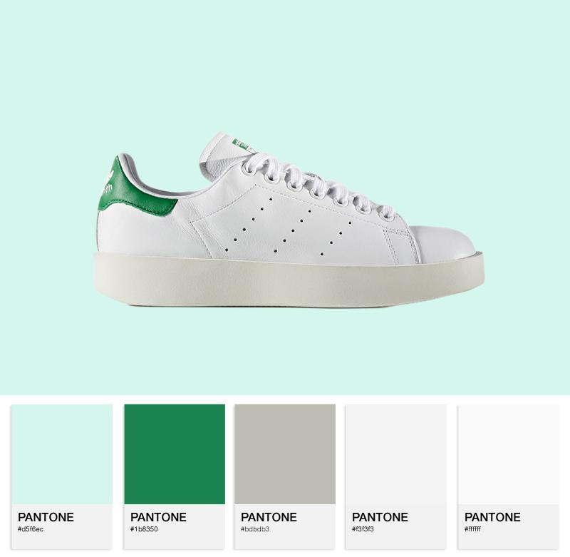 adidas Originals W Stan Smith Bold - S32266 - Ftw White / Green