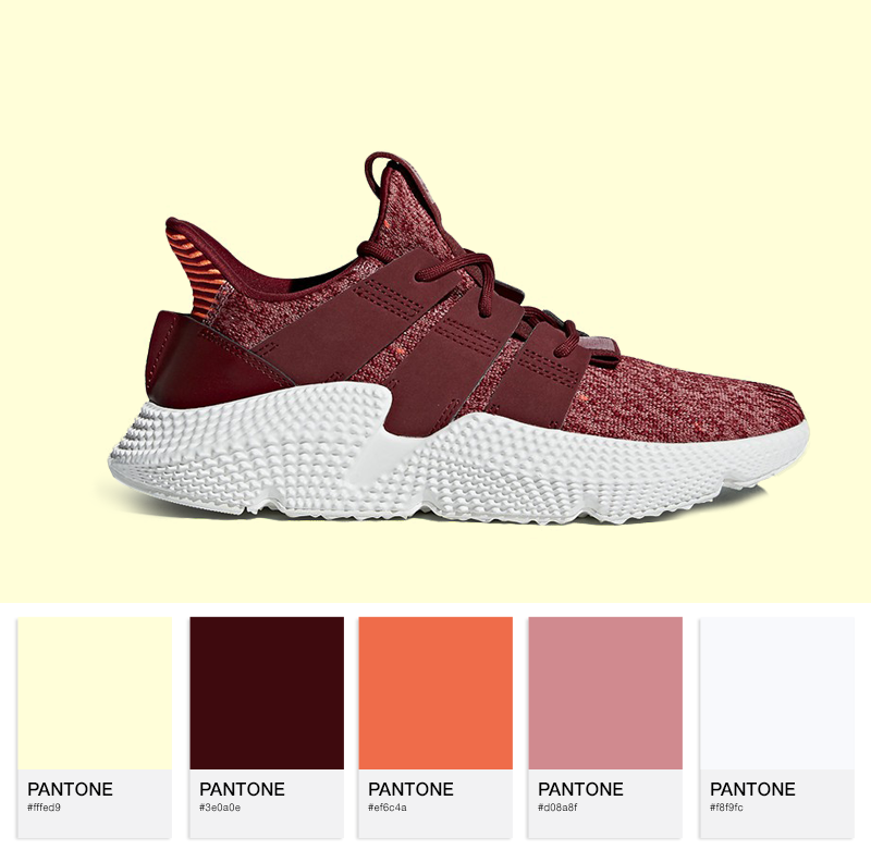 adidas Prophere W – Trace Maroon/Noble Maroon/Solar Red
