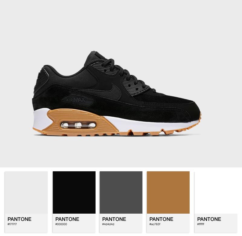 Nike Air Max 90 SE - 881105-003 - Black / Gum Light Brown