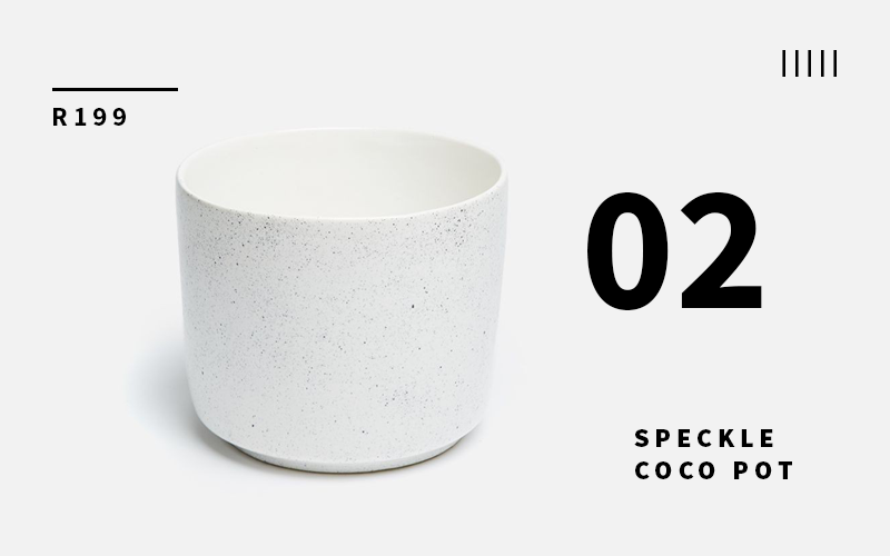 Speckled Coco Pot