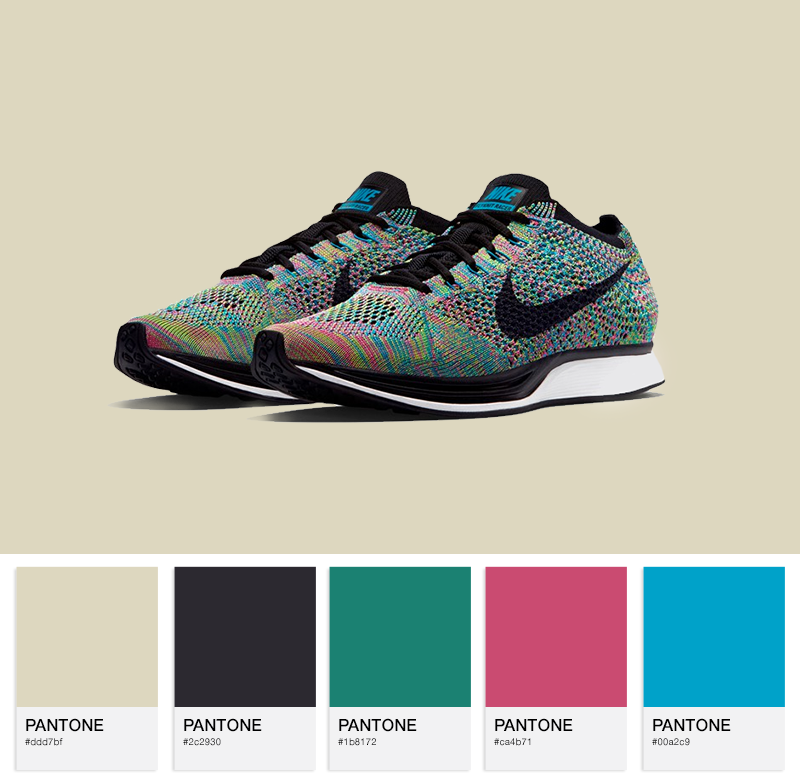 Nike Flyknit Racer Multi-Color 2.0