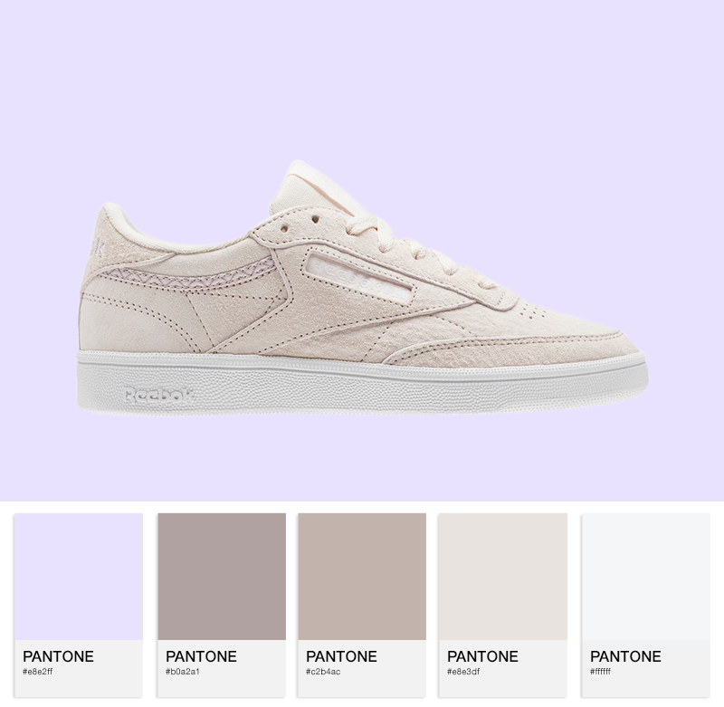Reebok Club C 85 Trim NBK - Pale Pink/White